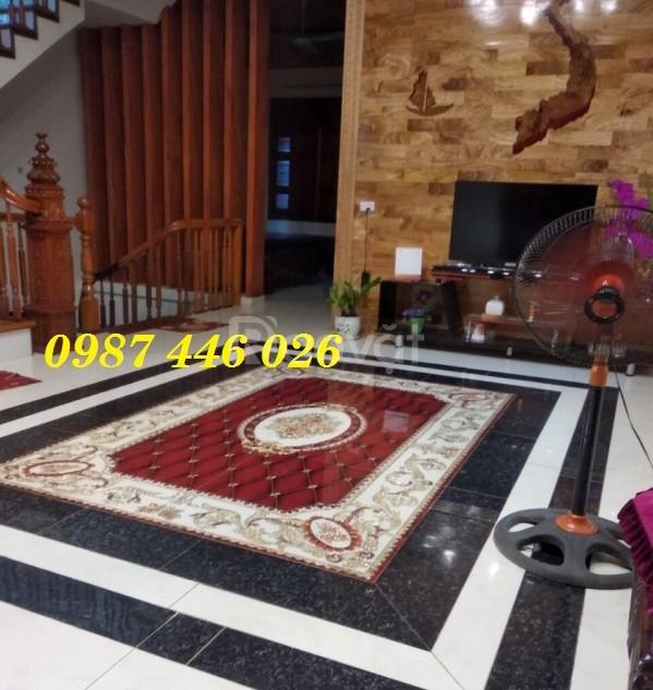 Thảm gạch phòng khách, gạch trang trí