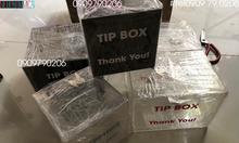 Hộp đựng tiền tipbox có sẵn
