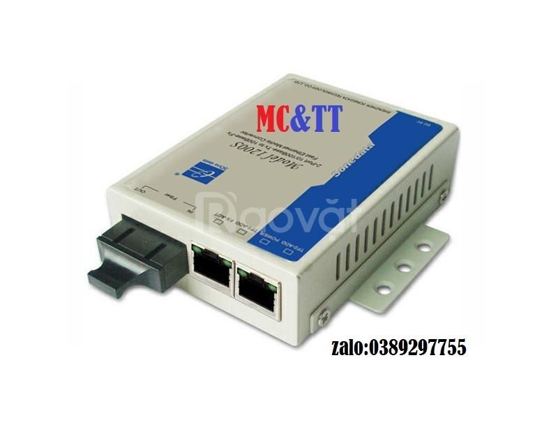 Bộ chuyển đổi quang điện 2 cổng Ethernet + 1 cổng quang 220VAC MODEL12