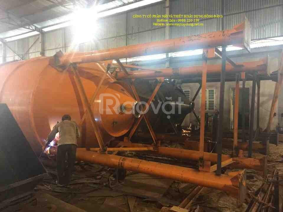 Silo chứa xi măng 40 tấn, 60 tấn giá cực tốt
