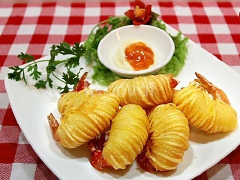Nơi cung cấp khoai tây chiên giá sỉ tại Bình Phước.