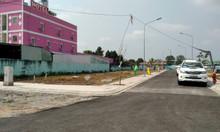 Bán lô đất 5x16 thổ cư 100% có sổ hồng bán 350 triệu.