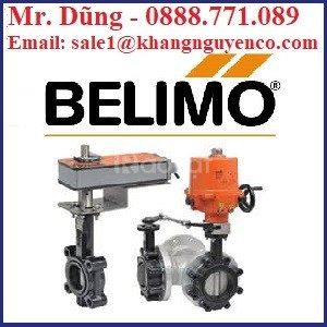 Van bướm điện điều khiển Belimo Việt Nam