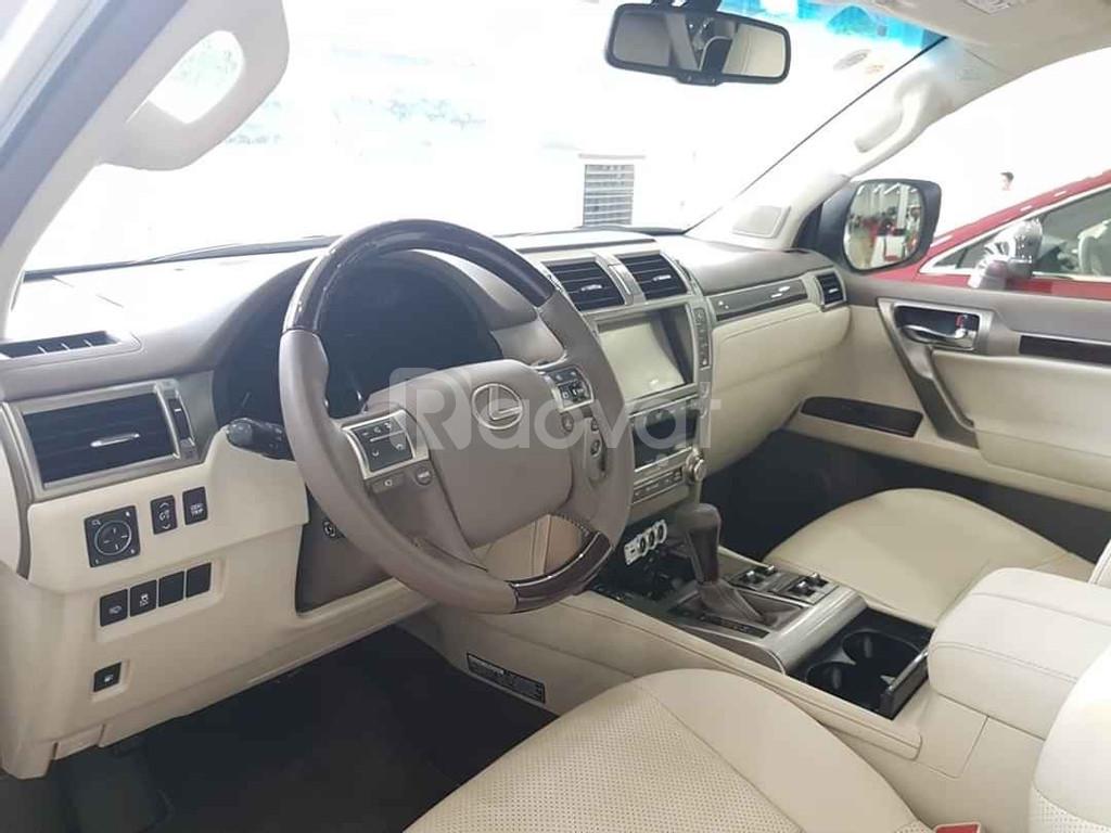 Bán Lexus GX460, màu trắng, nội thất kem, bản full