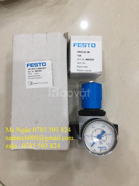 Festo Đo Áp Suất PAGN-40-1M-G18 hàng chính hãng - giá tốt  (ảnh 1)