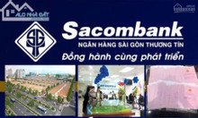 Ngân hàng Sacombank liên kết phát mãi 30 nền đất khu đô thị Tân Tạo -