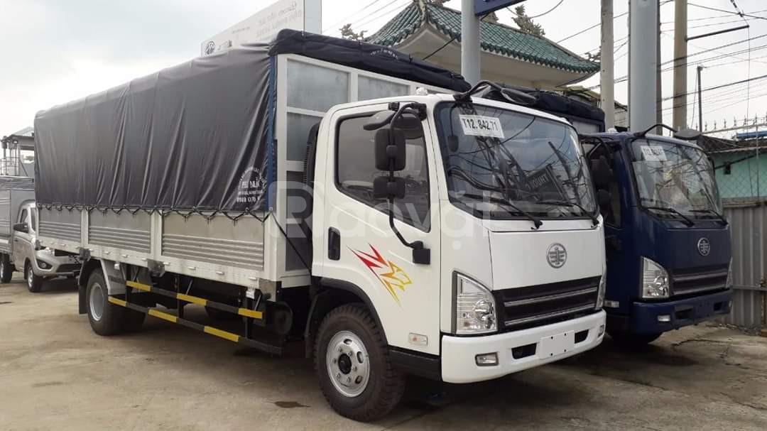 Xe tải faw 8 tấn ga cơ máy hyundai nhập khẩu|Hỗ trợ trả góp