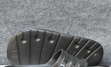 Dép Adidas Duramo màu đen sọc bóng