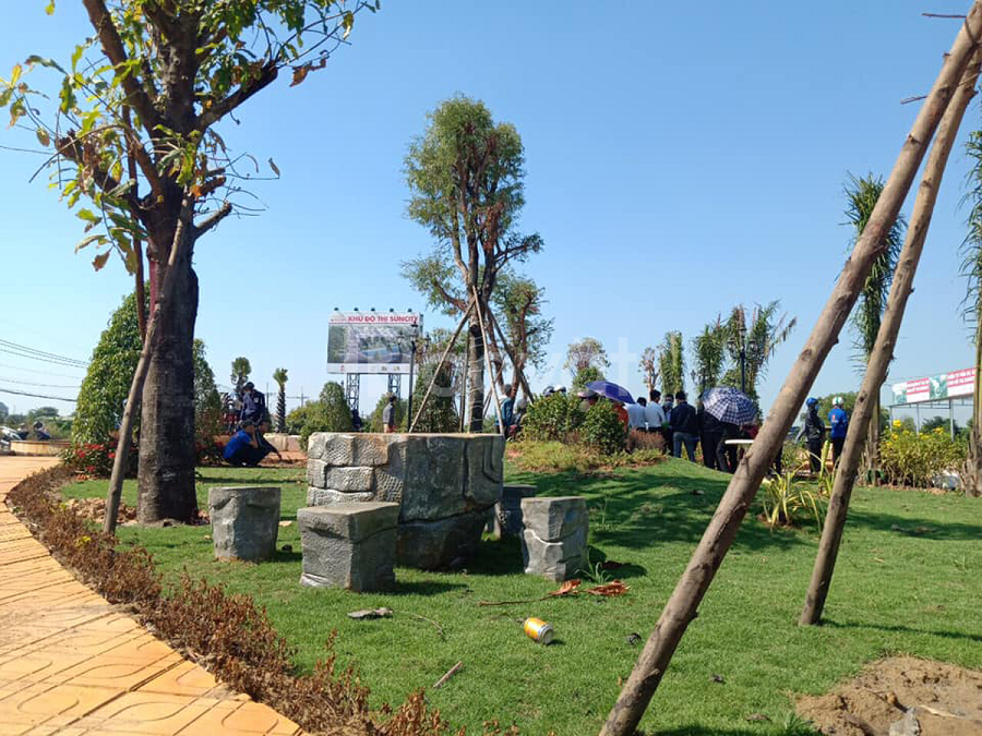 Sở hữu miếng đất phía sau bệnh viện Xuyên Á, Củ Chi