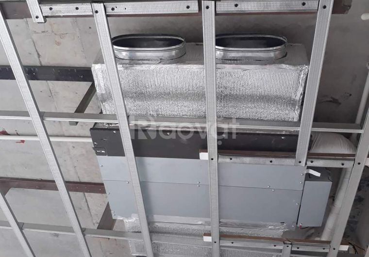 Khảo sát và tư vấn thiết kế lắp đặt máy lạnh giấu trần nối ống gió