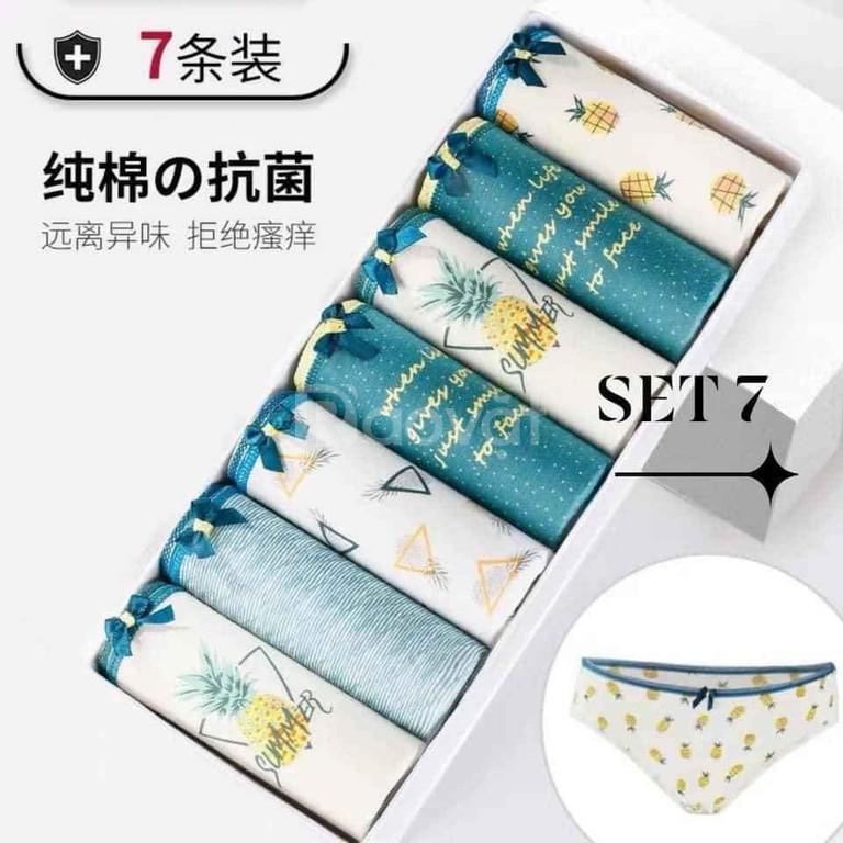Set 7 quần lót nữ cao cấp nhập khẩu chính hãng