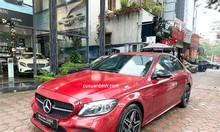 Bán xe Mercedes C300 AMG 2019 màu đỏ