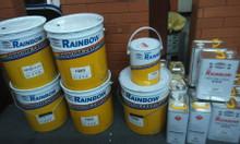 Tổng đại lý chuyên cung cấp sơn chịu nhiệt Rainbow 300 độ màu bạc