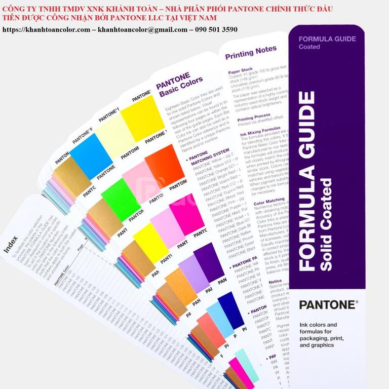 Pantone Capsure with Formula Guide GP1609A 2020 USA chính hãng