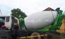 Bồn trộn bê tông 6 khối thủy lực nhập khẩu