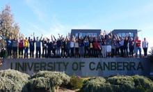 Học bổng dàng du học sinh - đường đến trường Đại học Canberra