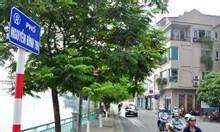 Cần bán nhà lô góc 60m2, Mt 5m mặt Hồ Tây Nguyễn Đình Thi