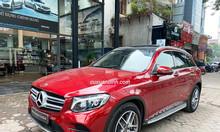 Xe Mercedes GLC 300 cũ 2019 màu Đỏ chạy 3.687 km 2 tỷ 259 triệu