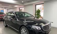Xe Mercedes E200 cũ sản xuất 2019 màu đen chạy 2.226km