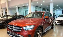 Bán xe Mercedes GLC 200 đăng ký 2020 màu Đỏ chạy 2637 km
