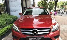 Xe Mercedes C200 Model 2019 màu đỏ chạy 4.359 km