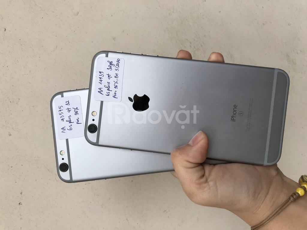 Điện thoại Iphone 6splus quốc tế 32gb keng, bảo hành Apple t6/2020