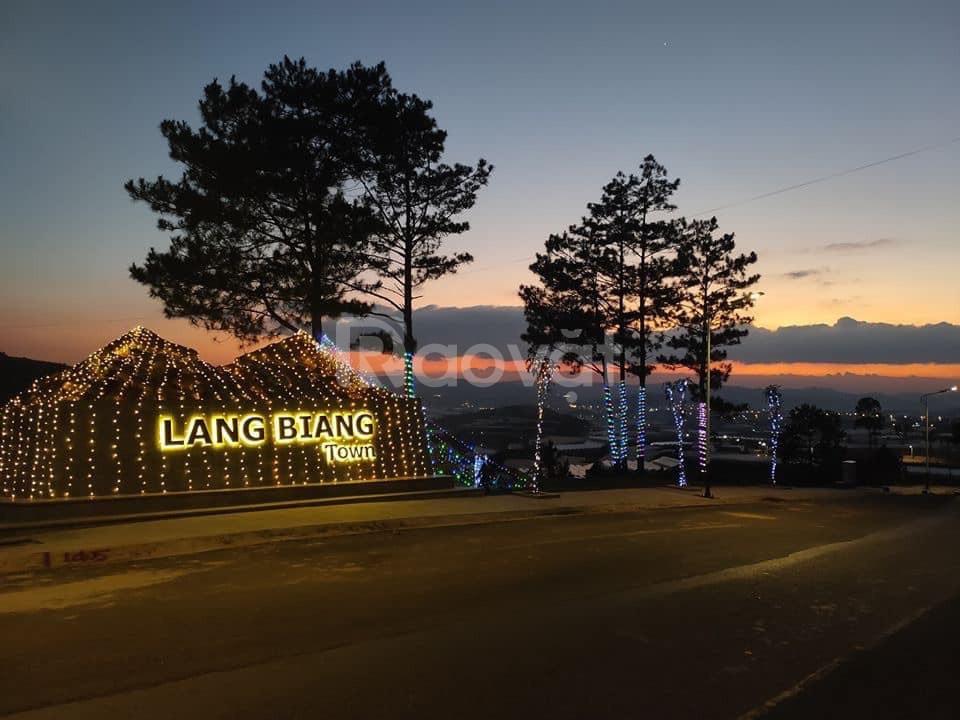 Đất nền biệt thự Langbiang Town - tổ hợp nghỉ dưỡng lớn nhất Đà Lạt