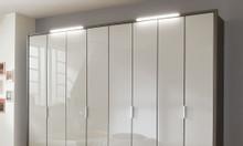Tủ quần áo gỗ công nghiệp acrylic | Báo giá thi công tủ áo acrylic