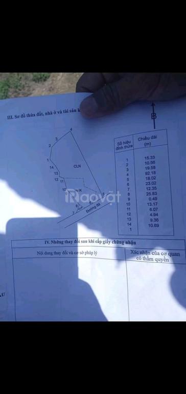 Bán 2 mảnh đất xã Bình Châu, mặt tiền đường nhựa 40m, giá tốt