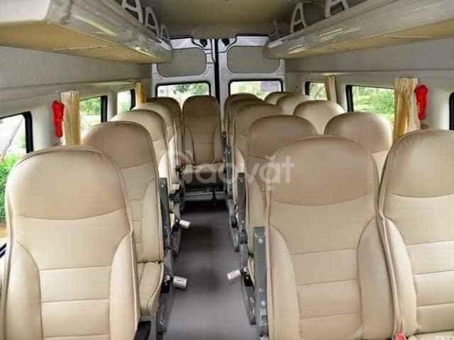 Xe du lịch 16 chỗ nhập khẩu giá tốt 680tr bao cạnh tranh