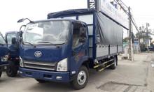 Xe tải 8 tấn, xe tải Faw động cơ hyundai ga cơ thùng bạt 6m2