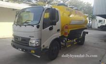 Xe bồn Hino 6 khối chở xăng dầu chuẩn tại Petrolimex