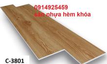 Sàn nhựa hèm khóa vân gỗ giá rẻ