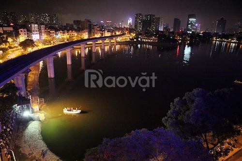 Mặt phố Hoàng Cầu, view hồ Hoàng Cầu, mặt tiền 8m, đất vuông