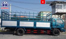 Xe tải 6.5 tấn ga cơ thùng chở phế liệu, mút xốp- đời 2017