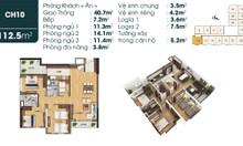 CĐT bán căn hộ góc 4PN 113m2 từ 810 tr, vay ưu đãi 70% GTCH Long Biên