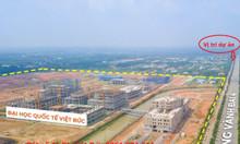 Đất sổ đỏ MT Vành Đai 4, ngay trường ĐH Quốc Tế Việt Đức,ck 10%/sp