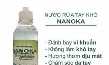 Nước rửa tay khô, diệt khuẩn, dưỡng ẩm da tay