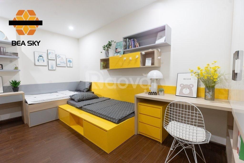 Cho thuê căn hộ chung cư B4 Kim Liên, 80m,2 ngủ,full nội thất