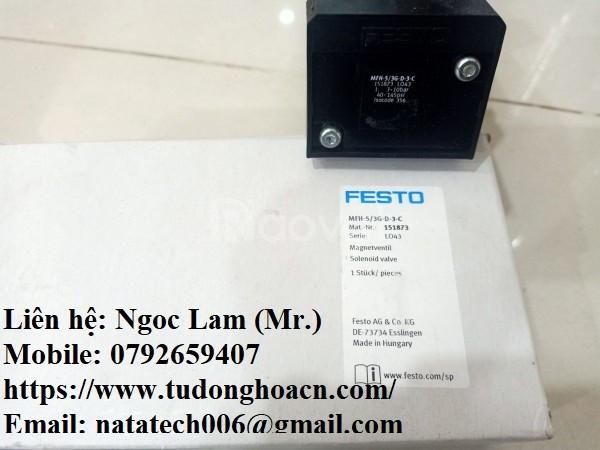 Van điện từ MFH-5 / 3G-D-3-C chính hãng Festo