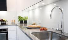 Tủ bếp hiện đại chữ l | Thiết kế thi công tủ bếp đẹp