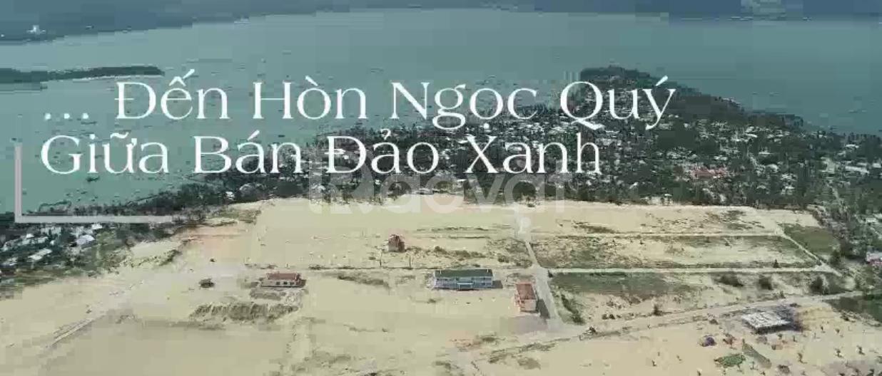 Bán đất 3 mặt biển giá 7-8tr/m2 ở trước đang xây resort.