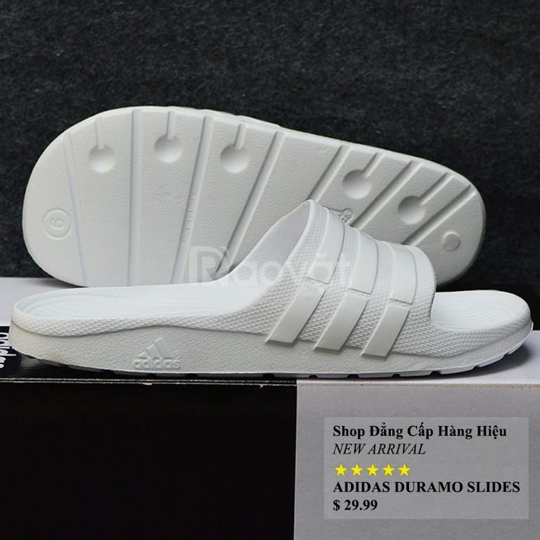 Adidas Duramo màu Trắng sọc bóng