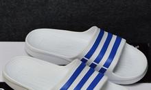 Adidas Duramo màu trắng sọc xanh dương