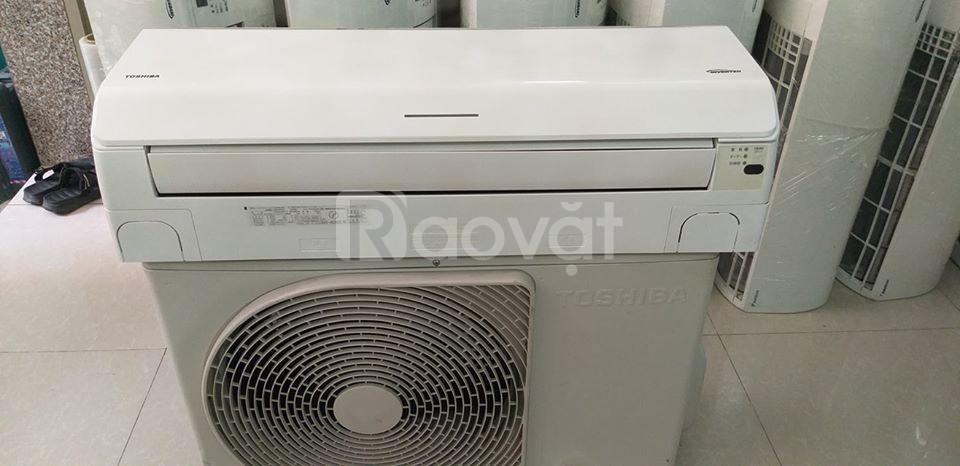 Máy lạnh Toshiba 2HP tiết kiệm điện + plasma ion đảo gió 4 hướng