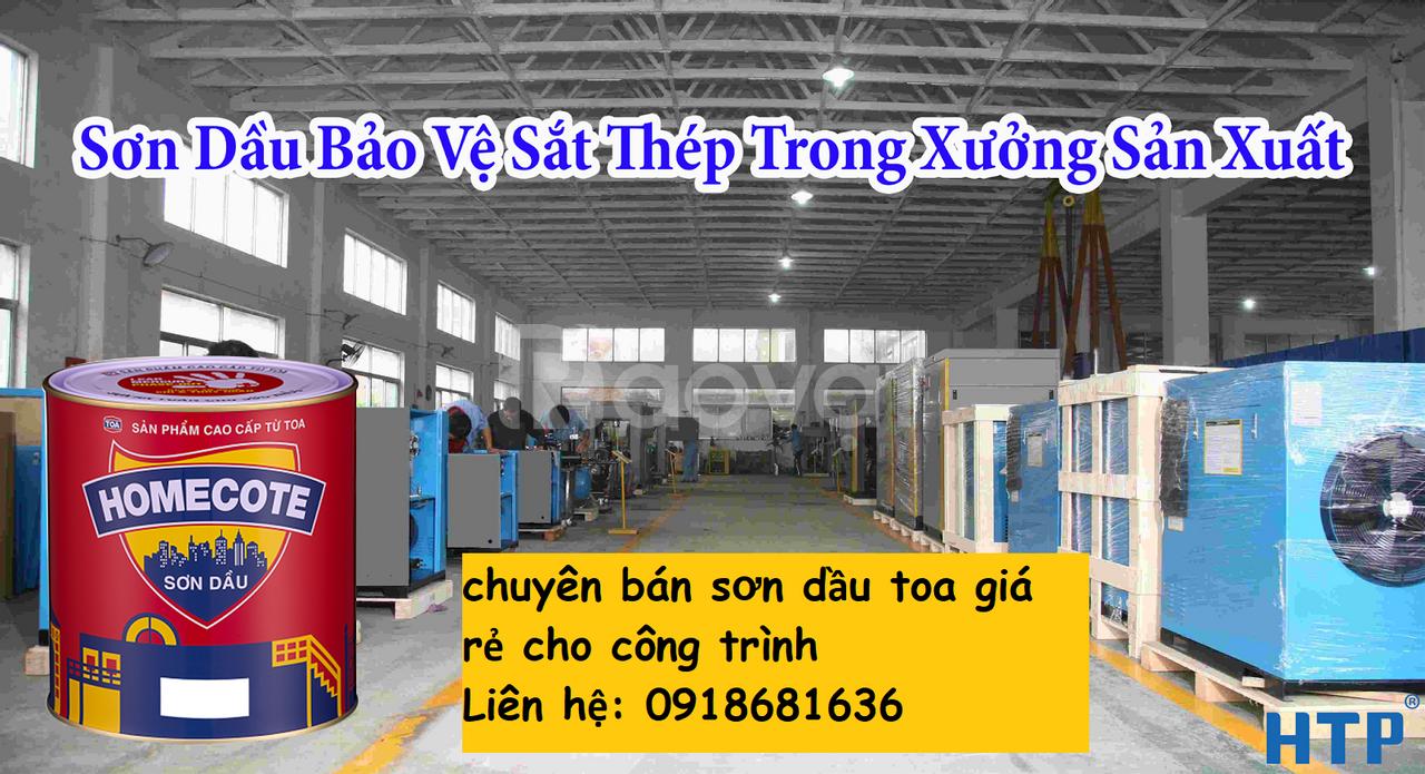 Nhà cung cấp sơn dầu toa hiệu con vịt giá rẻ chính hãng cho công trình