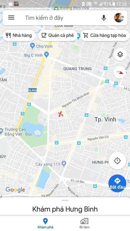 Bán lô góc trung tâm thành phố 77889