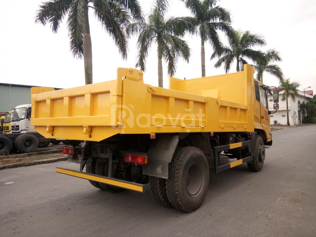 Xe ben 2 chân Dongfeng Hoàng Huy 8 tấn giá rẻ