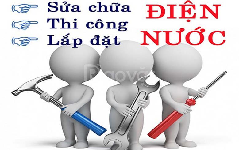 Nhận thi công điện nước, điện lạnh tại Thuận An, uy tín, giá bình dân