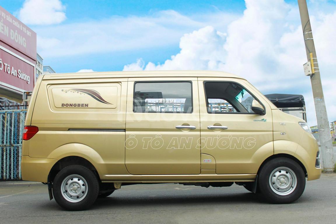 Xe tải Van 490kg Dongben 5 chỗ ngồi đi vào thành phố như ô tô con